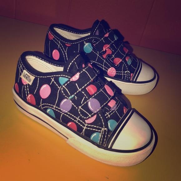 5716f658da VANS Multi Color Balloon Sneakers Toddler Girl 7. M 5b68b34ee9ec892949376314
